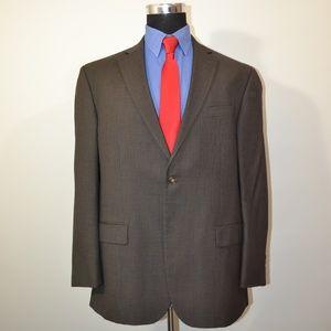Geoffrey Beene 44R Sport Coat Blazer Suit Jacket G